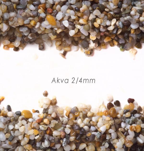 D-mix AKVA 2/4-kamenný koberec - 25kg