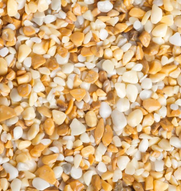 Giallo Siena 5/8mm-kamenný koberec 1m2/hr.20mm