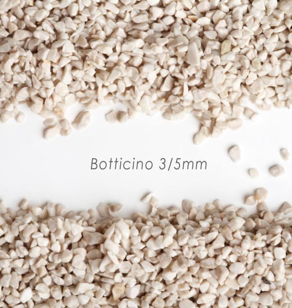 Okrúhliak Botticino 3/5mm pre kamenné koberce - 25kg