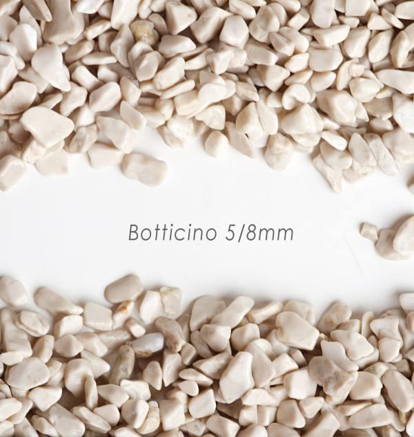 Okrúhliak Botticino 5/8mm pre kamenné koberce - 25kg