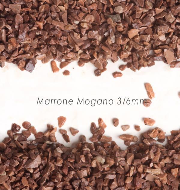 Štrk Mogano 3/6mm pre štrkový koberec - 25kg