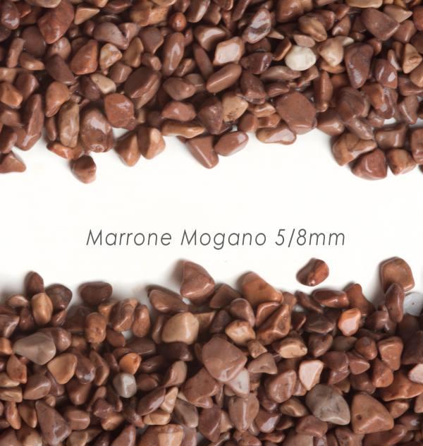 Okrúhliak Mogano 5/8mm pre kamenný koberec - 25kg