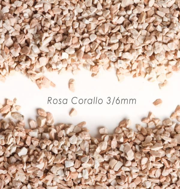 Štrk Corallo 3/6mm pre štrkový koberec - 25kg