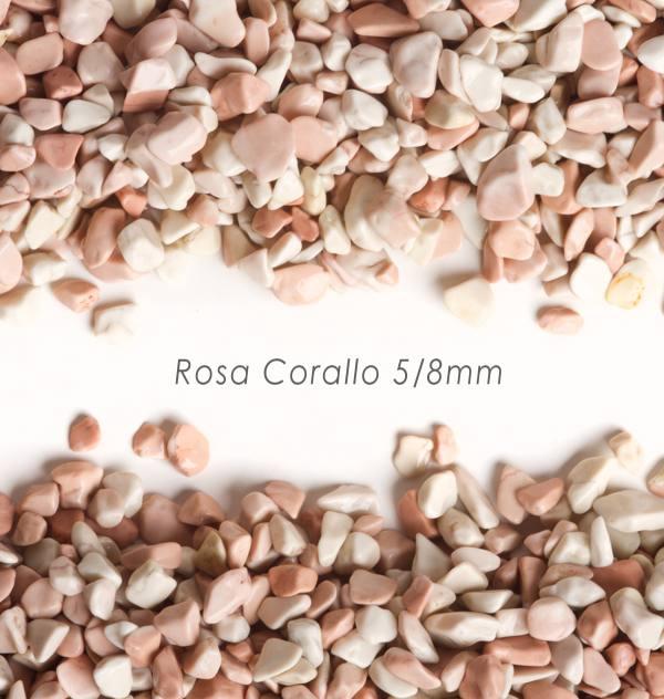 Okrúhliak Corallo 5/8mm pre kamenný koberec - 25kg
