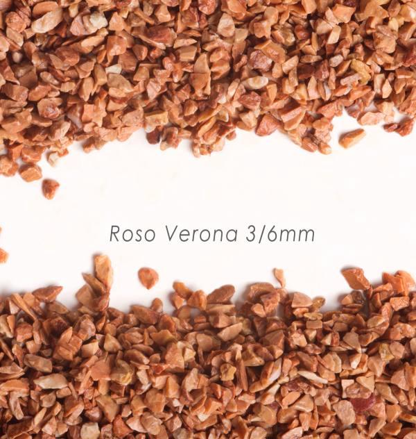 Štrk Verona 3/6mm pre štrkový koberec - 25kg