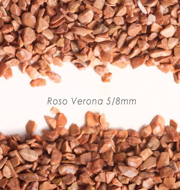 Okrúhliak Verona 5/8mm pre kamenný koberec - 25kg