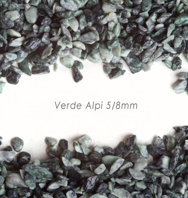 Okrúhliak Alpi 5/8mm pre kamienkový koberec - 25kg