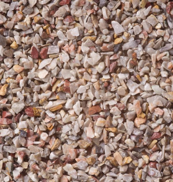 Mramorový štrk Arabescato 3-6mm, pre kamenny koberec