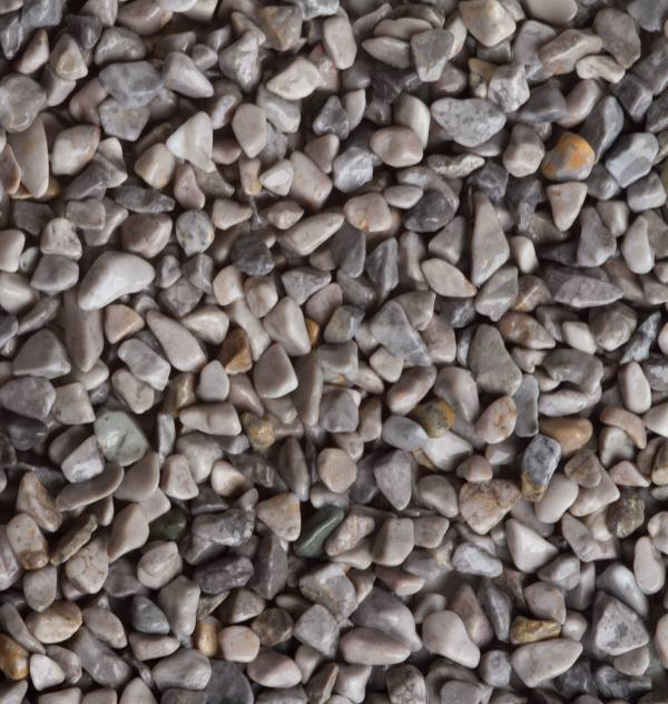 šedý mramor Occhialino, okruhliaky 5-8mm, pre kamenne koberce